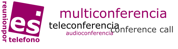 Ir a inicio. Conference, teleconference
